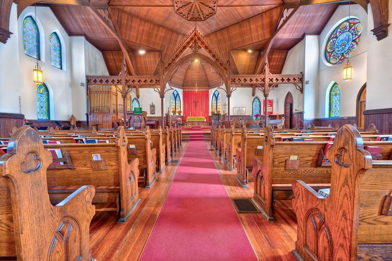 Photo of St. Matthias' Episcopal Church in Asheville, NC