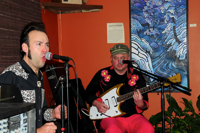 """""""Pleasure Chest"""" band performing at The Bywater"""
