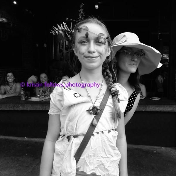 katie & the leaf child on lexington