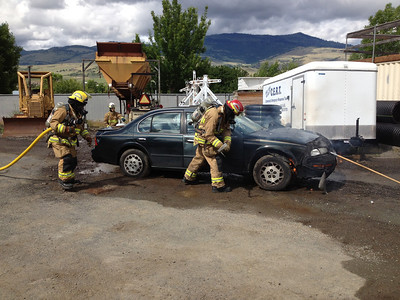 Car Fire Training