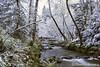 Ashland Creek Winter Snow