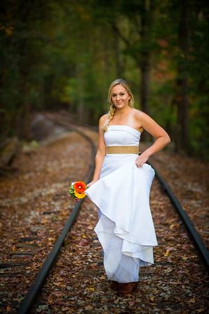 Ashleigh trash the dress