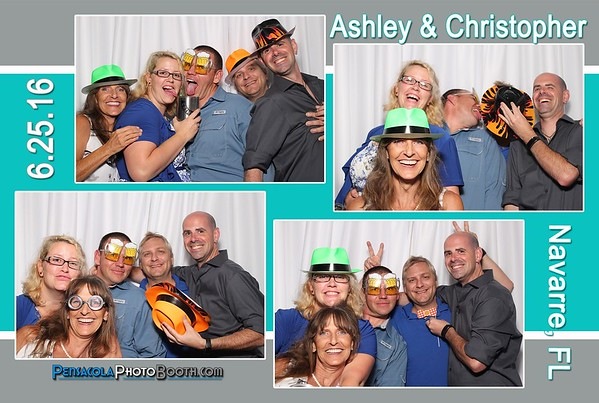 Ashley & Christopher Wedding 6-25-2016