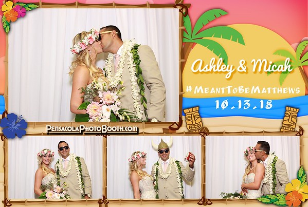 Ashley & Micah's Wedding 10-13-2018