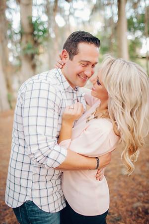 Ashley + Will   Kraft Azalea Gardens   Winter Park Engagement