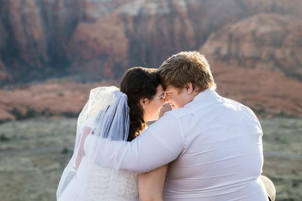 Ashley and Arron bridals
