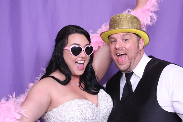 ashley & scott photo booth