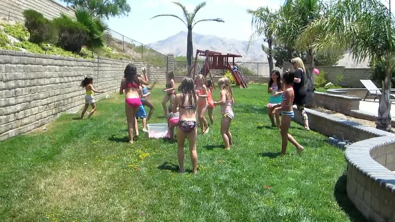Video of water ball fight