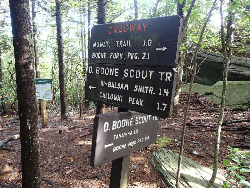 Grandfather Mountain - Daniel Boone Scout Trail