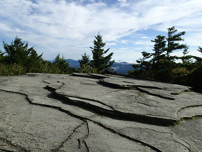 Grandfather Mountain - Daniel Boone Scout Trail - Flat Rock View