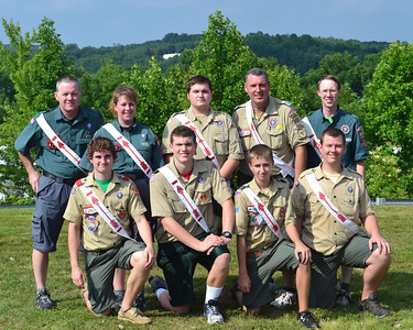 Santee Lodge 116 Summit Corps Contingent