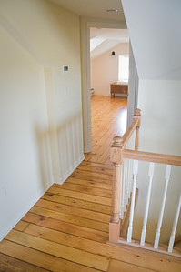 Farm house remodeling - the new hall to photo studio