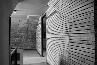Farm house remodeling - the old upstairs with exposed lath
