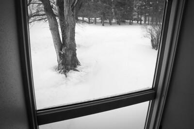 Farm house - window art - through window looking east - 5