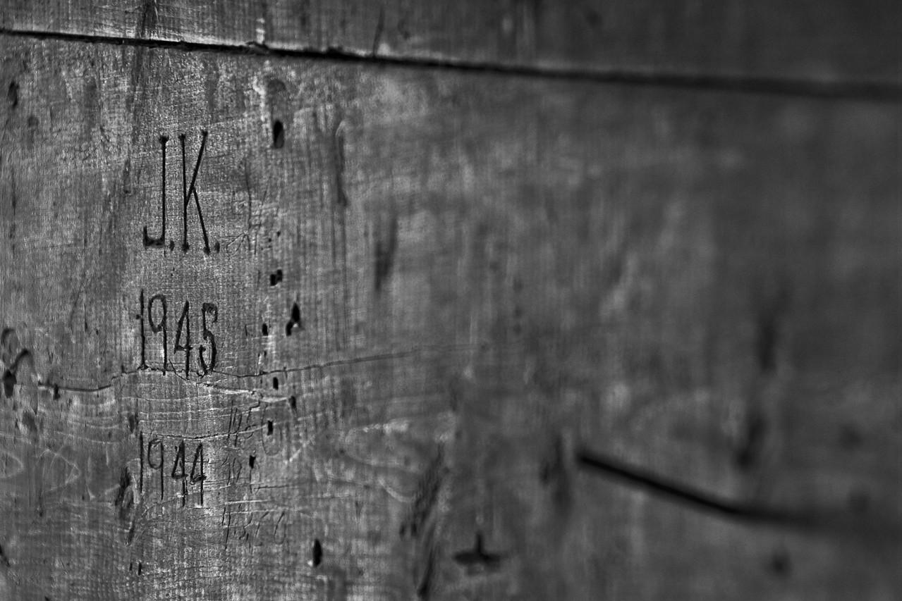 Farmstead - building - granary - Johnny Koch initials