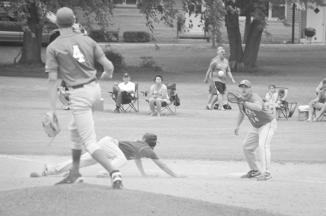 July 6, 2014, Ashton vs. Richland Center, Sunday league