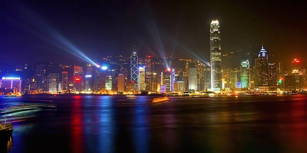 Hong Kong Island and Victoria Harbor