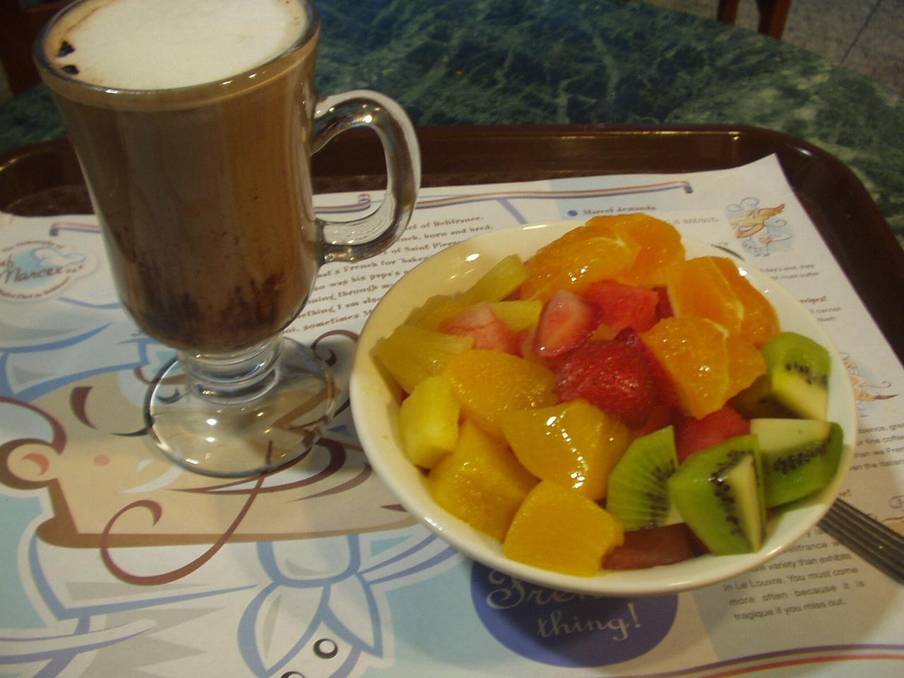 airport breakfast