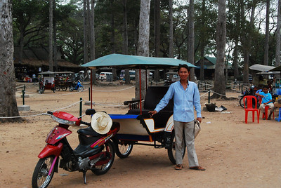 Mr Nang, our drive for our 3 day trip.  About 10 dollars a day.