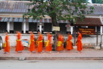 feeding of the monks