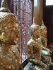 Buddhas at Wat Trai Mit. They are covered with paper thin gold as tribute from worshipers.
