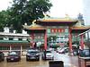 Entrance to Wat Trai Mit.
