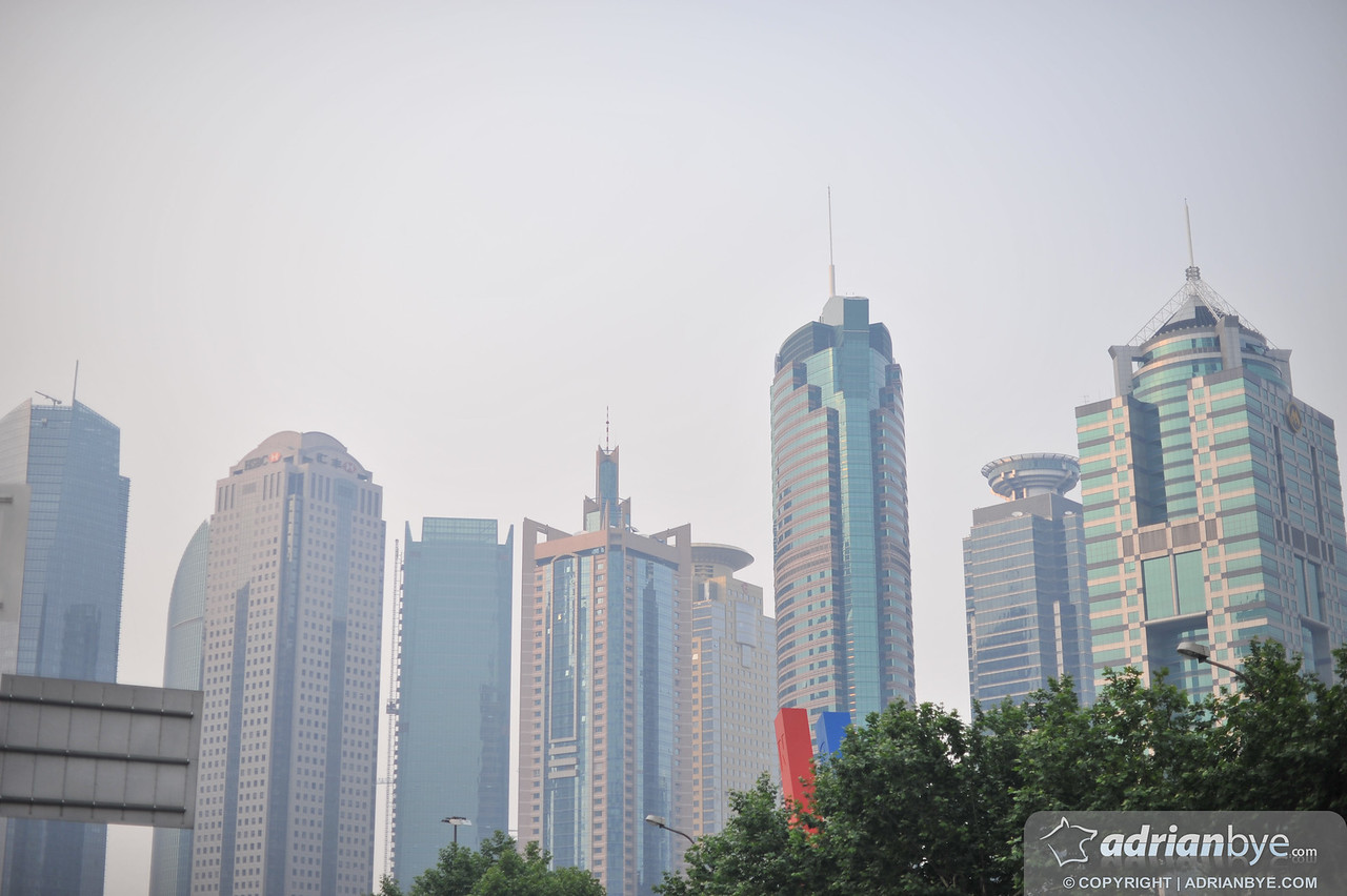 Part of the Shanghai skyline - nothing short of spectacular