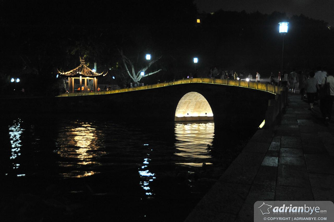 A lake in Hangzhou