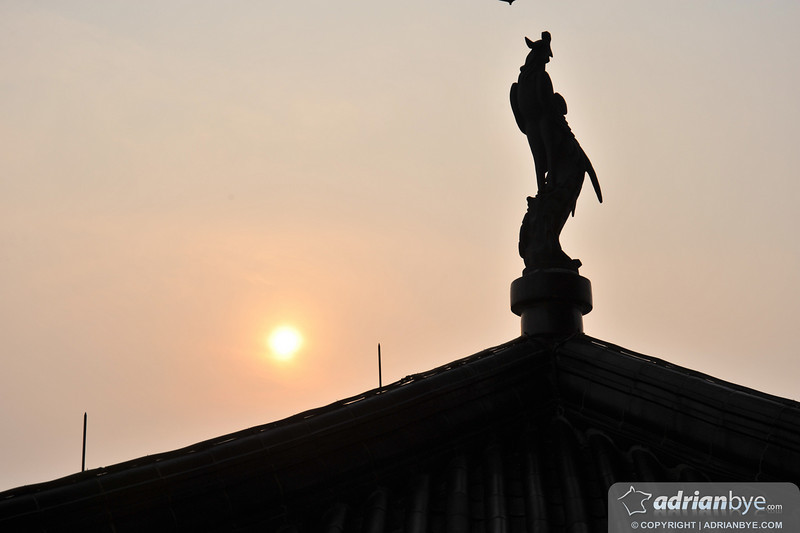 Sunset at Hangzhou