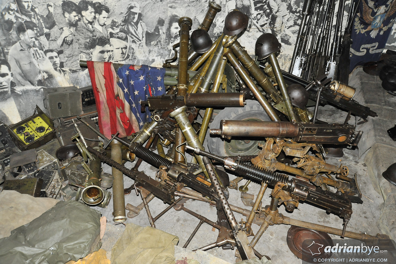 Captured american weapons from the korean war