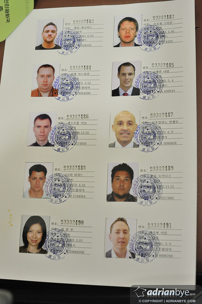 People asked me what North Korean visas look like - here they are.  They're done in a group, and for ours it cost around US$500 for all of us.