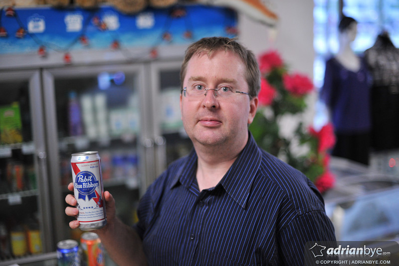 This was a shocker.. I can now confirm that Pabst Blue Ribbon is on sale in North Korea!  I had to buy it and on tasting it can be certain it truly was pabst blue ribbon!