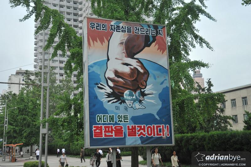 North Korea wants to squash the USA