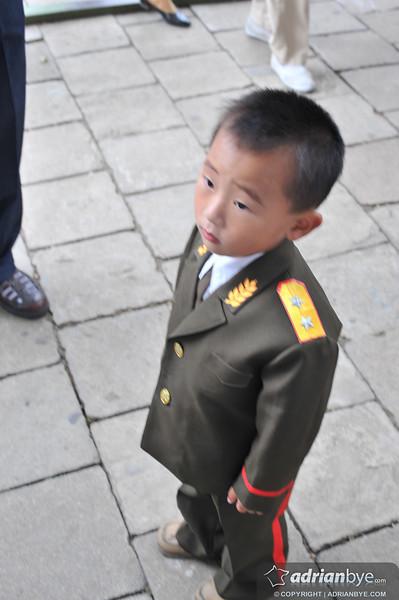 Young North Korean military