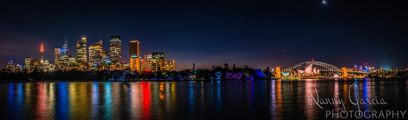 Sydney Panoramic Skyline