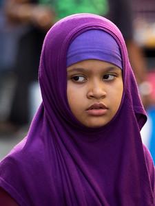 Yound girl with Hajib