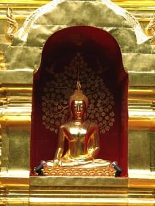 Golden Buddah near Chaing Mai, Thailand
