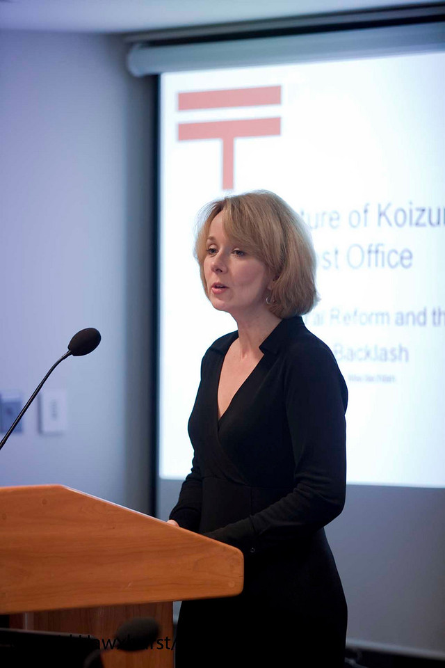 Squaring the Iron Triangle: The Fate of Economic and Political Reform in Japan<br /> <br /> Speaker(s): Patricia Maclachian, Ulrike Schaede, Matthew Carlson
