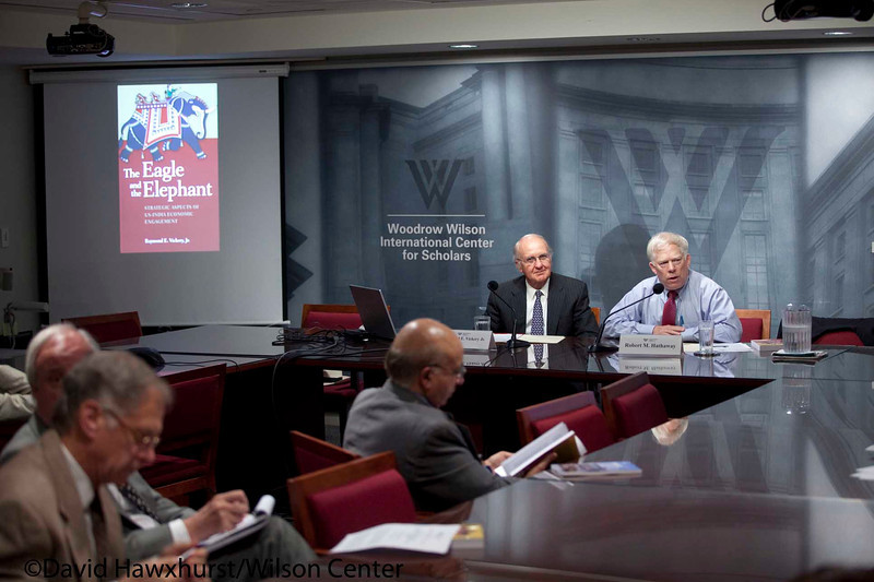 Book Launch: The Eagle and the Elephant: Strategic Aspects of US-India Economic Engagement<br /> <br /> Speaker(s): Raymond Vickery
