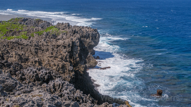 Cape Hedomisaki located on the north tip of Okinawa offers stunning views and hiking trails