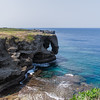 Stunning eroded coastline of Kouri Island