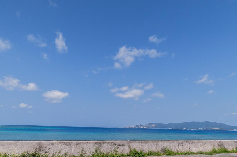Road trip to Kouri Island from Okinawa, Japan