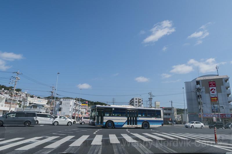 Okinawa roads in Japan