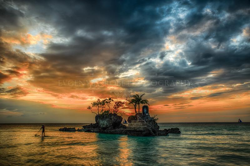 Boracay, Philippines Sunset