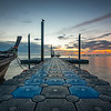 East Railay Boat Pier, Thailand