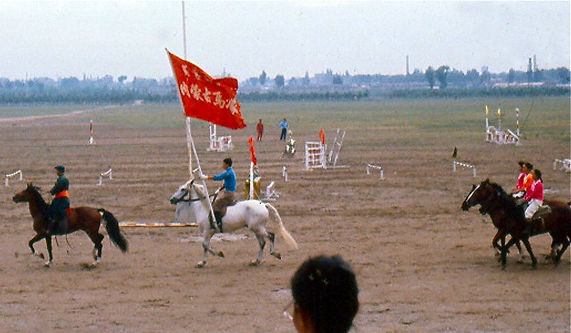 A rodeo in Huhehaote.