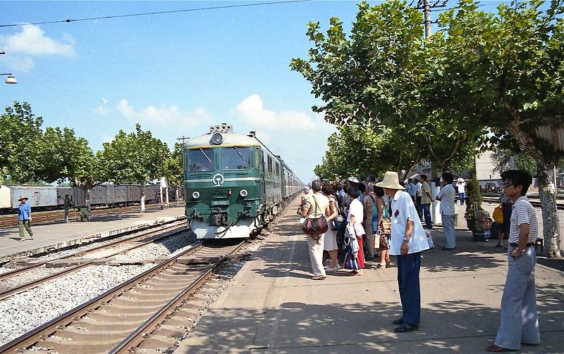 Train to Wuxi
