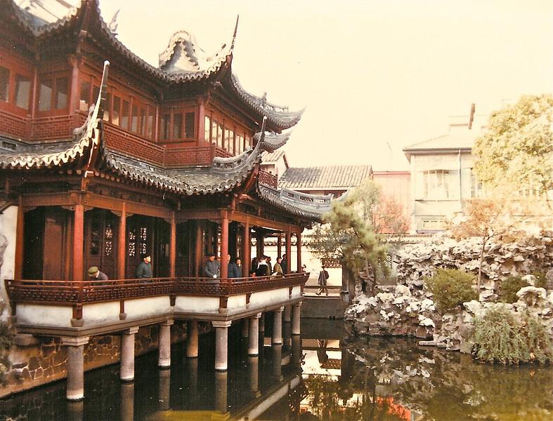 Shanghai Chinatown gardens