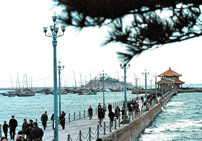Qingdao coast area