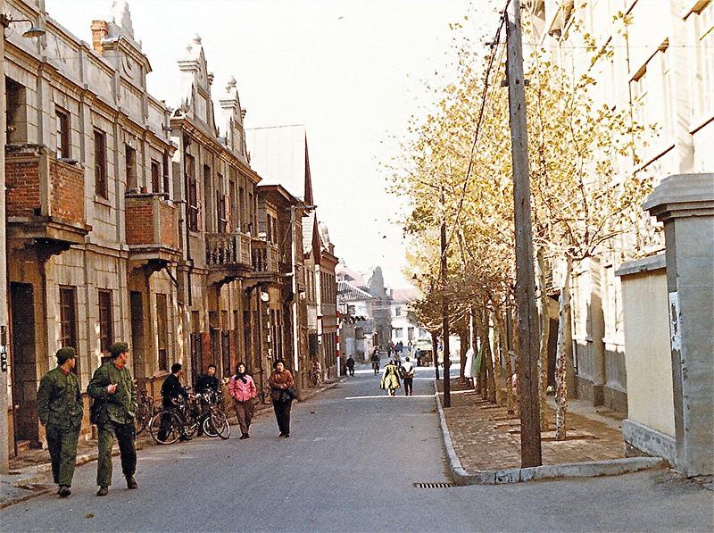 Qingdao street scene